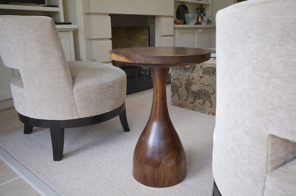 Turned Side Table – Fulham
